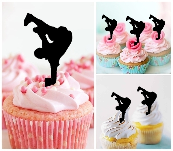 Acrylic Toppers Hip Hop Dancing Design