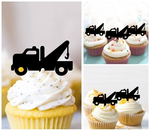 Acrylic Toppers Tow Truck Design